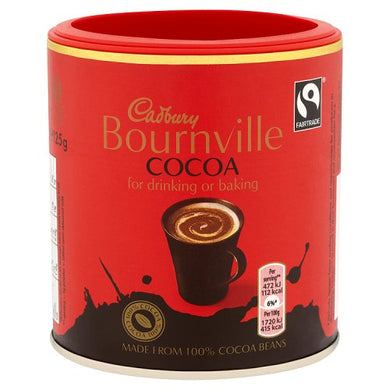Cadbury Bournville Cocoa Powder (125g)
