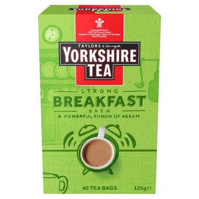 Yorkshire Tea Breakfast Brew Tea Bags (40)