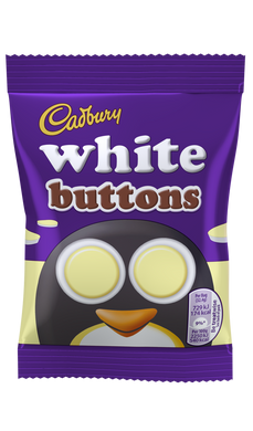 Cadbury White Buttons (33g)