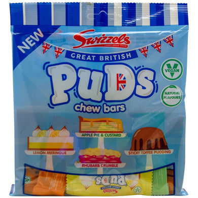 Swizzels Great British Puds Chew Bars (150g)