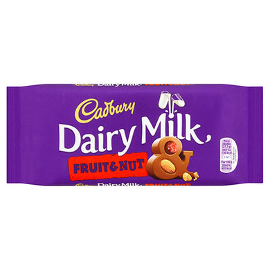 Cadbury Dairy Milk Fruit & Nut (110g)