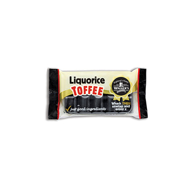 Walkers Nonsuch Toffee Bar - Liquorice (100g)