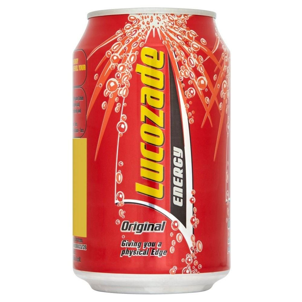 Lucozade Energy Can - Original (330ml)