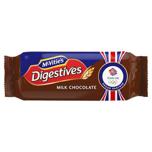 McVities Milk Chocolate Digestives (266g)