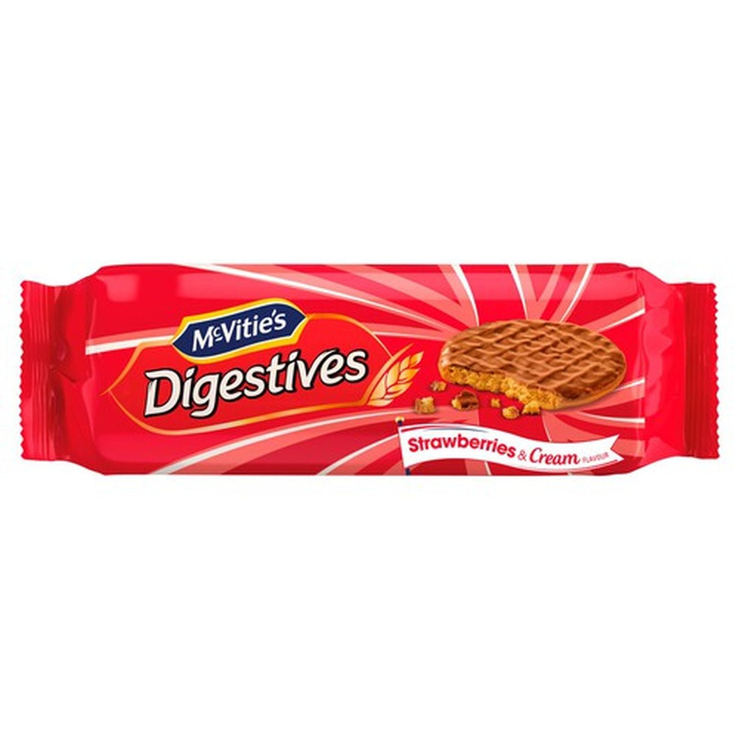 McVities Digestive Strawberries & Cream (250g)
