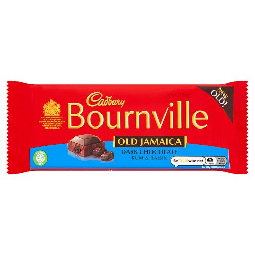 Cadbury Bournville - Old Jamaica Rum & Raisin (100g)