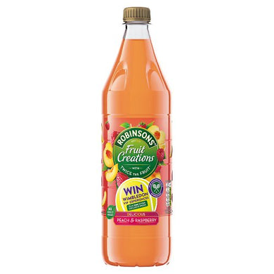 Robinsons Fruit Creations - Peach & Raspberry (1L)