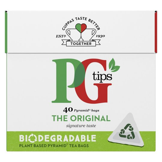 PG Tips Pyramid Bags (40)