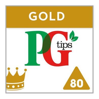 PG Tips Gold Tea Bags (80)