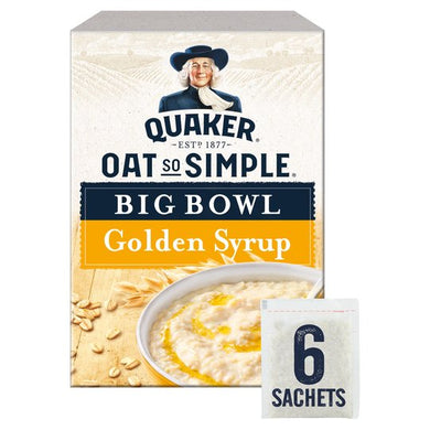 Quaker Oat So Simple Golden Syrup (6 Pack)