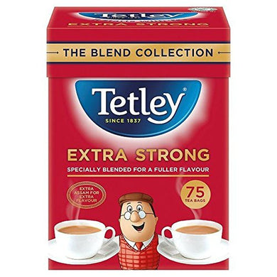 Tetley Extra Strong Tea Bags (75)