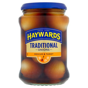 Haywards Traditional Onions Medium & Tangy (400g)