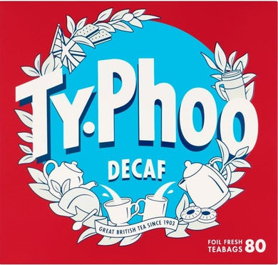 Typhoo Decaf Tea Bags (80)