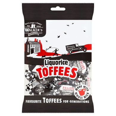 Walkers Nonsuch Liquorice Toffees Bag (150g)