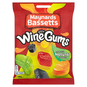 Maynards Bassetts Wine Gums Bag (165g)
