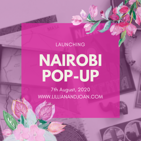 NAIROBI POP-UP SHOP