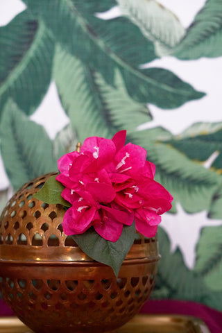Bougainvillea Hair Flower - FUCHSIA