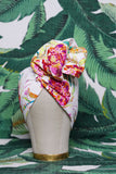 Garden Floral - Wired Turban Headband