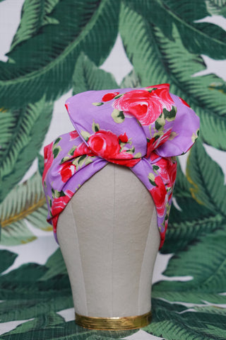 Lavender & Rose - Wired Turban Headband