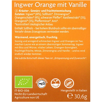 Ingwer Orange mit Vanille 17x1,8g