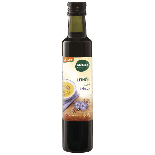 Leinöl nativ, demeter, 250ml