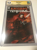 Knights Temporal 1 B Variant - CGC Signed By Cullen Bunn - Heroes Cave