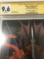 Once and Future 1 One Per Store Variant - CGC Signed By Kieron Gillen - Heroes Cave