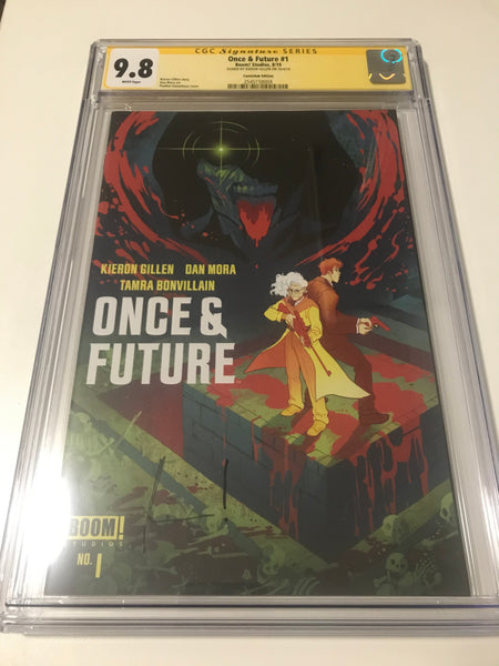 Once and Future 1 ComicHub Variant - CGC Signed By Kieron Gillen - Heroes Cave