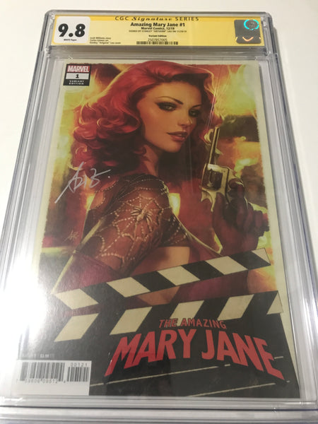 Amazing Mary Jane 1 - CGC Signed by Artgerm - Heroes Cave