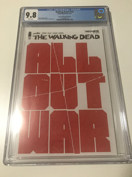 Walking Dead 115 - CGC Megabox Exclusive - Heroes Cave