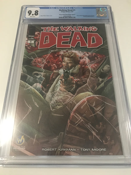 Walking Dead 1 - CGC Wizard World Philiadelphia Edition - Heroes Cave
