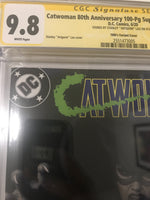 Catwoman 80th Anniversary 1 - CGC Signed by Artgerm - Heroes Cave