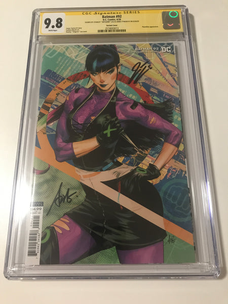Batman 92 - CGC Signed By James Tynion IV & Artgerm