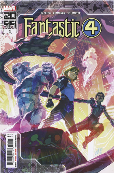 Fantastic Four 2099 1 - Heroes Cave