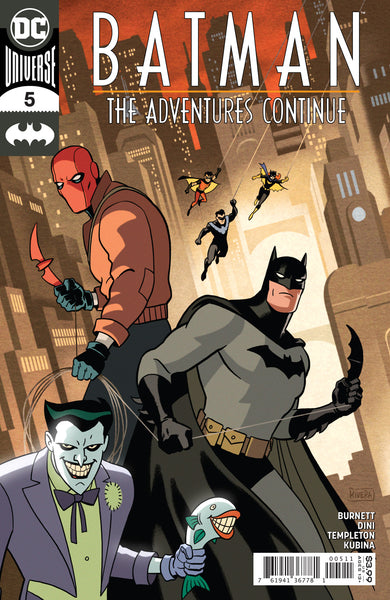 Batman Adventure Continues 5 - Heroes Cave