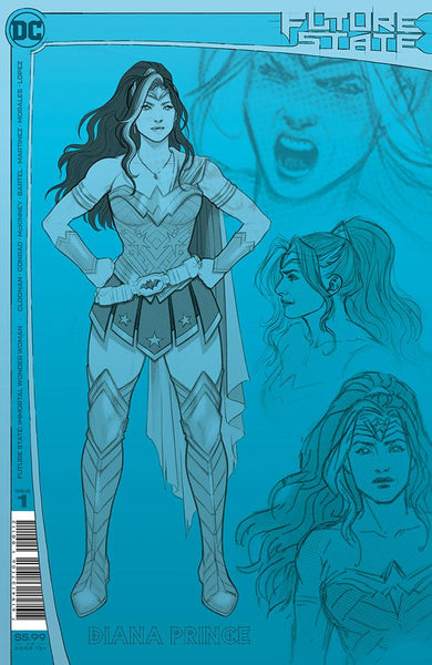 Future State: Immortal Wonder Woman 1 - 2nd Print (Pre-order 2/17/21) - Heroes Cave
