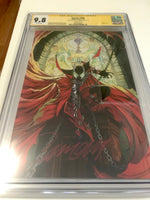 Spawn 300 - CGC Signed by Scott Campbell - Heroes Cave