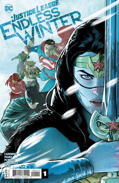 Justice League Endless Winter 1 (Pre-order 12/2/20) - Heroes Cave