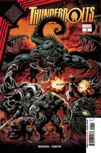 King in Black Thunderbolts 1 - Heroes Cave