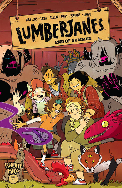 Lumberjanes End of Summer 1 (Pre-order 12/2/20) - Heroes Cave