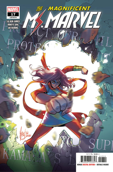 Magnificent Ms Marvel 17 - Heroes Cave