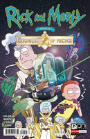 Rick and Morty Presents Council of Ricks 1 - Heroes Cave