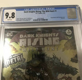 DC Dark Knights Rising The Wild Hunt 1 - CGC - Heroes Cave