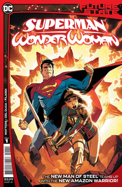 Future State: Superman Wonder Woman 1 - Heroes Cave