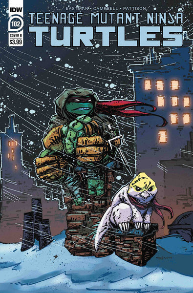 TMNT ONGOING 102 - Heroes Cave