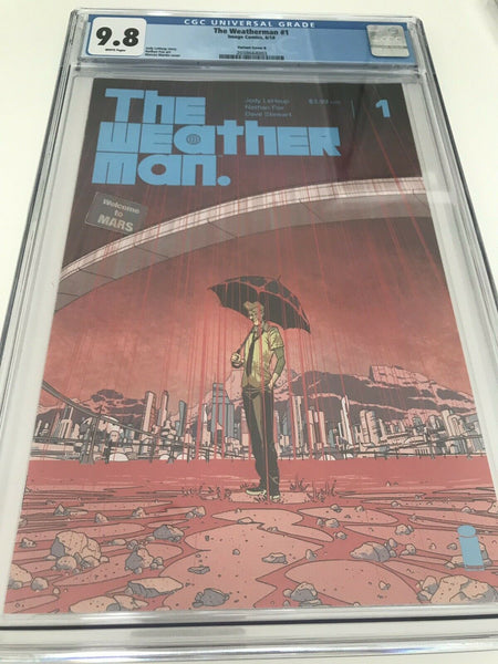 The Weatherman 1 - CGC - Heroes Cave