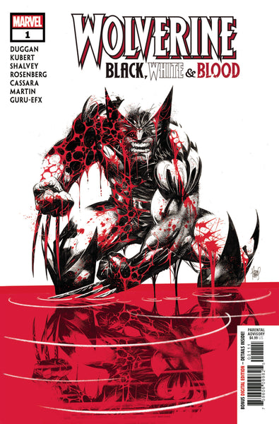 Wolverine Black White & Blood 1 (Pre-order 11/4/20)