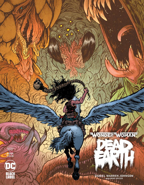 Wonder Woman Dead Earth 4 - Heroes Cave