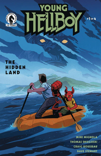 Young Hellboy the Hidden Land 1 - Heroes Cave