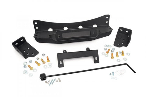 GM HIDDEN WINCH MOUNTING PLATE (07-13 SILVERADO/SIERRA 1500 PU)